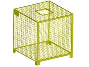 PET kontejner sklop