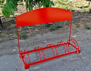 STB 501 crveni sa reklamom