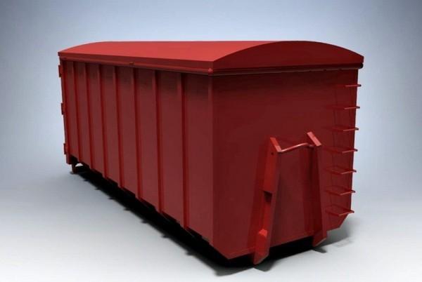 abroll kontejner crveni sa poklopcem 2