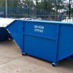 komunalni metalni kontejner