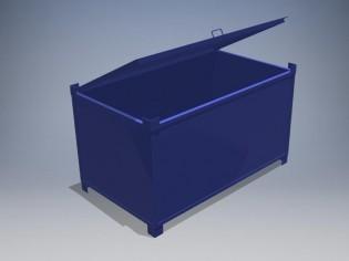 kontejner za fluo cevi
