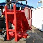 obrtni kontejner crveni