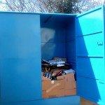 stacionarni kontejner za kartonsku ambalazu